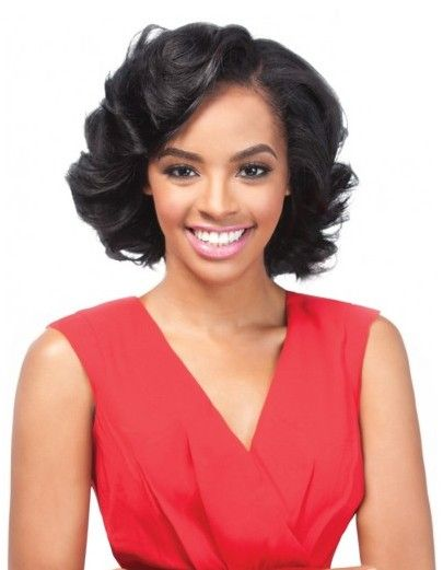 Outre Velvet 100 Remi Human Hair Remi Romance Curl Weave 3 Pcs Short Series Medium Length Weave Hairstyles Human Hair Weave Extensions Beautiful Wigs
