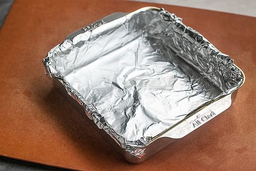 How To Line A Baking Pan With Aluminum Foil Baking Pans Wing