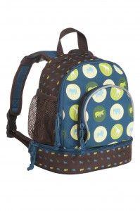 Lässig Kinderrucksack Rucksack 4Kids Mini Backpack Savannah petrol blau