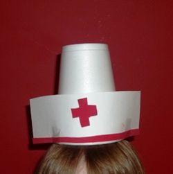 nurse hat craft for preschoolers hat craft ideas hat and 863