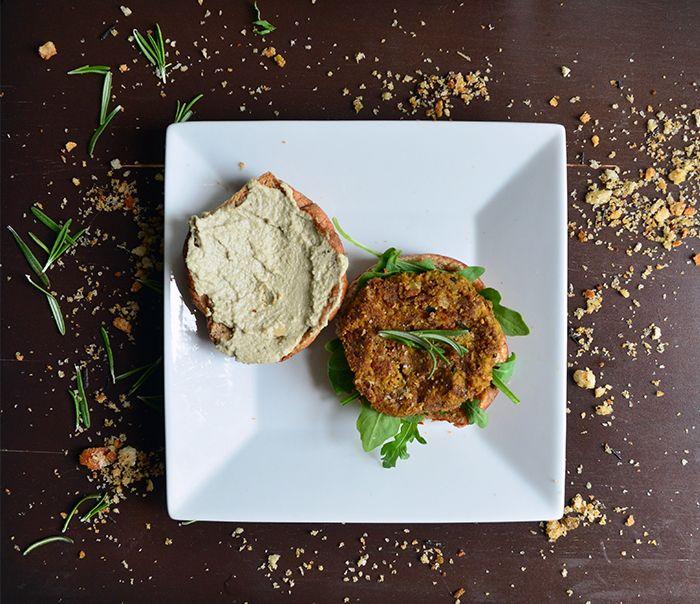 Carrot Chickpea Veggie Burger Recipe - Vegetarian Snob