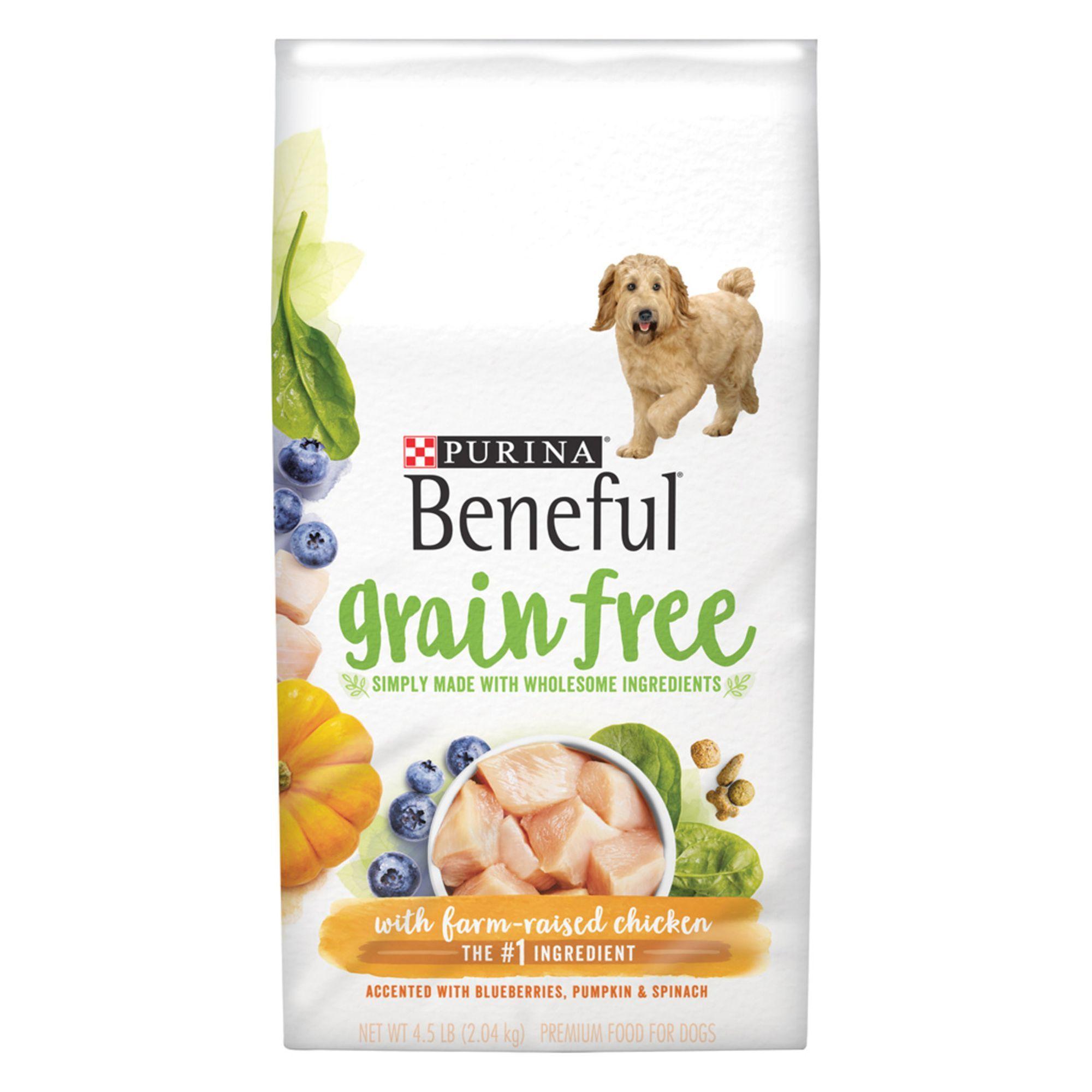 Purina Beneful Adult Dog Food Grain Free Gluten Free Chicken