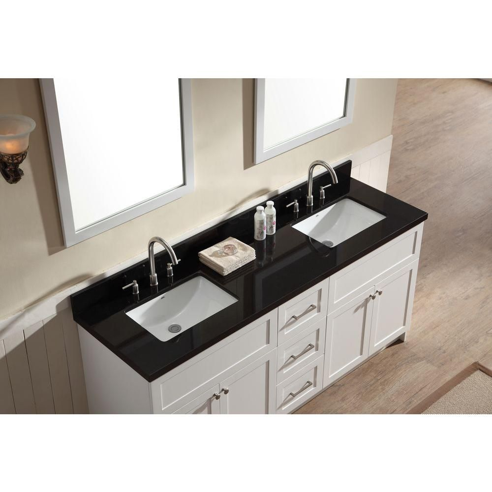 39+ 73 inch double sink vanity top granite type