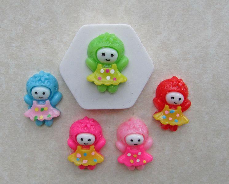 260.++Muñecas+de+colores.+Molde+de+silicona.+de+My+Candy+Moulds+por+DaWanda.com