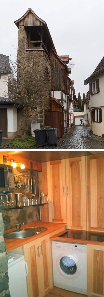 This Tiny Home In Butzbach Germany Is Inside A Medieval