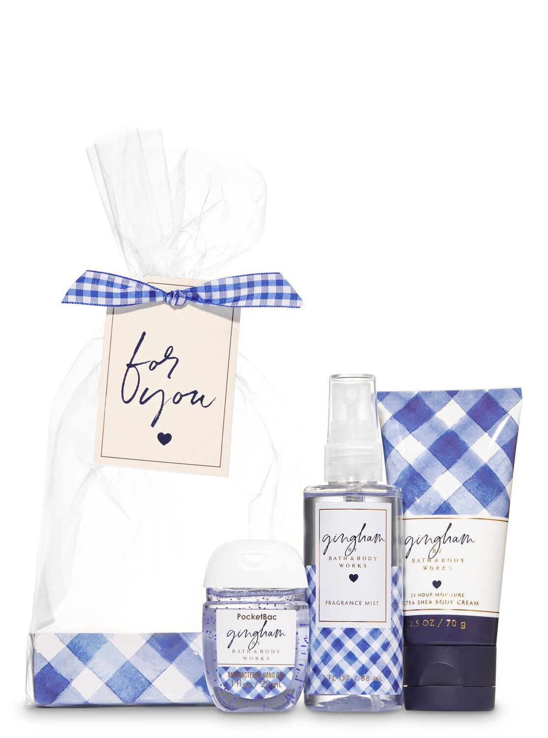 Gingham For You Mini Gift Set Gift Set Holiday Gift Sets Gifts