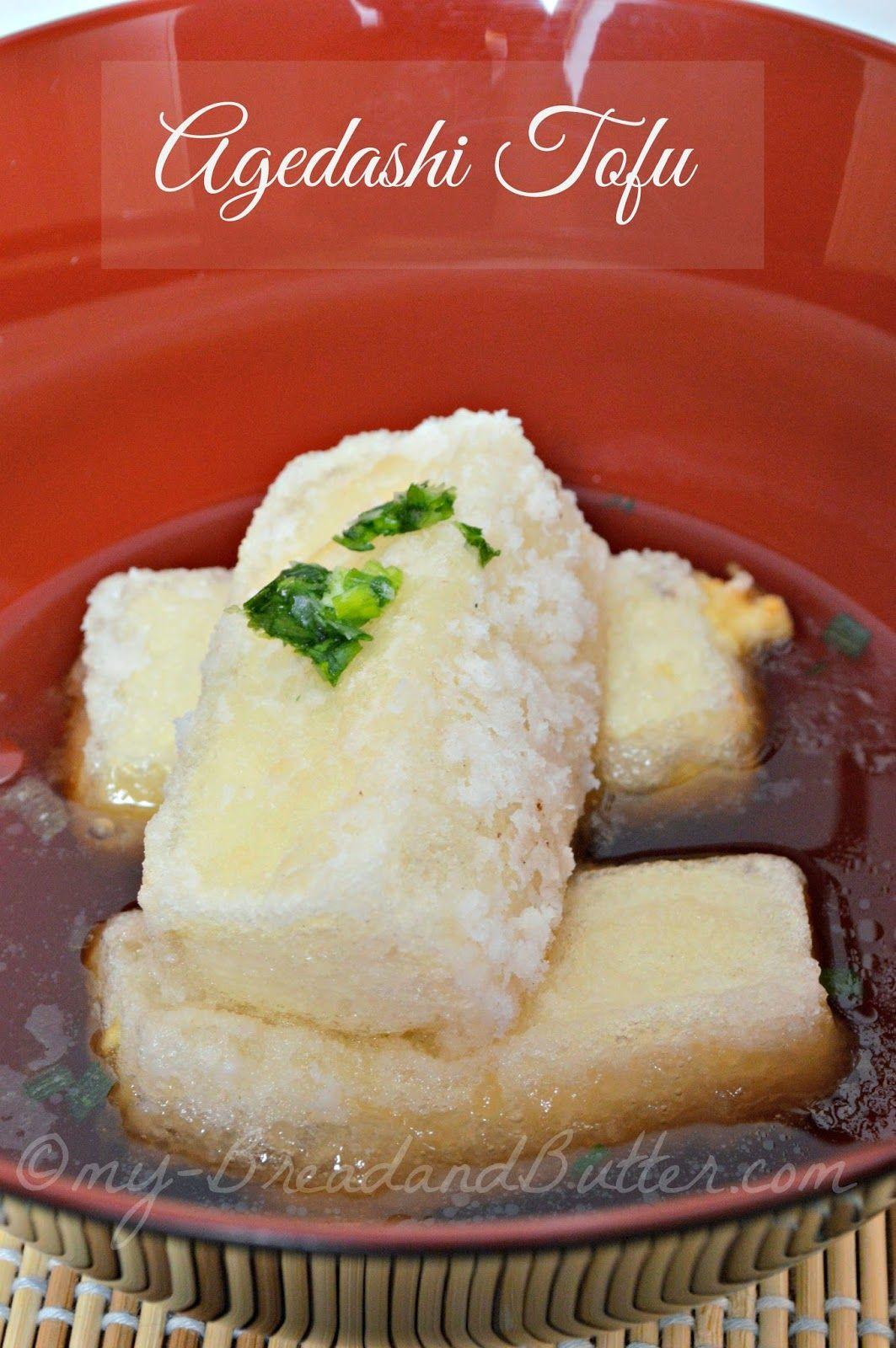 Agedashi tofu.... tofu fritto!!!