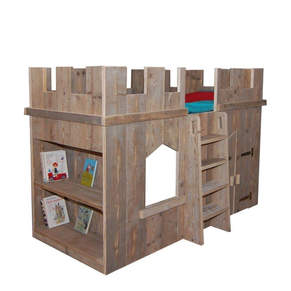 Stoer jongens bed maken google zoeken huis pinterest for Bed van steigerhout maken