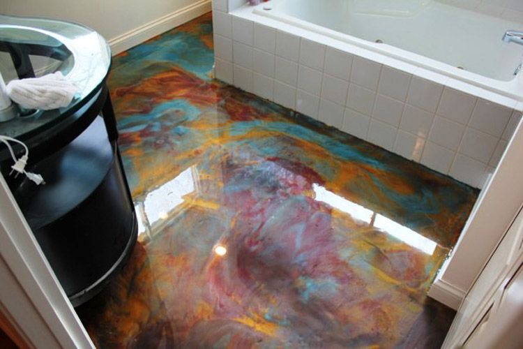 pin epoxy garage floor - photo #4