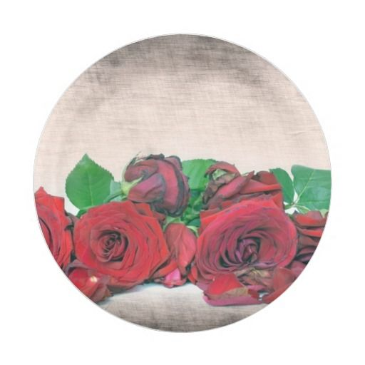sc 1 st  Pinterest & Roses Paper Plate