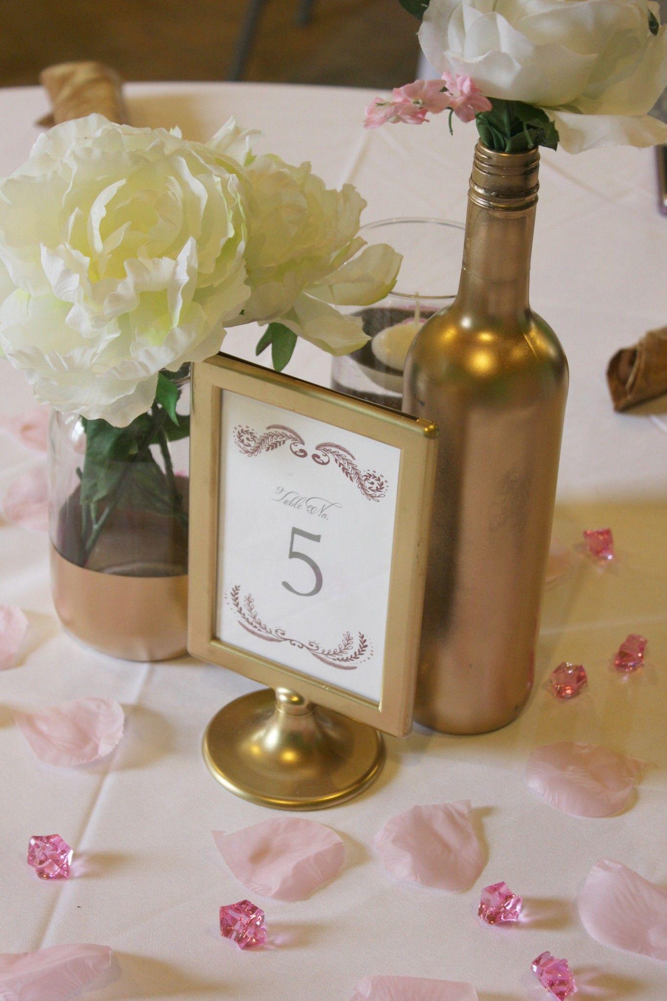 Diy pink and gold bridal shower diy wedding favors gold