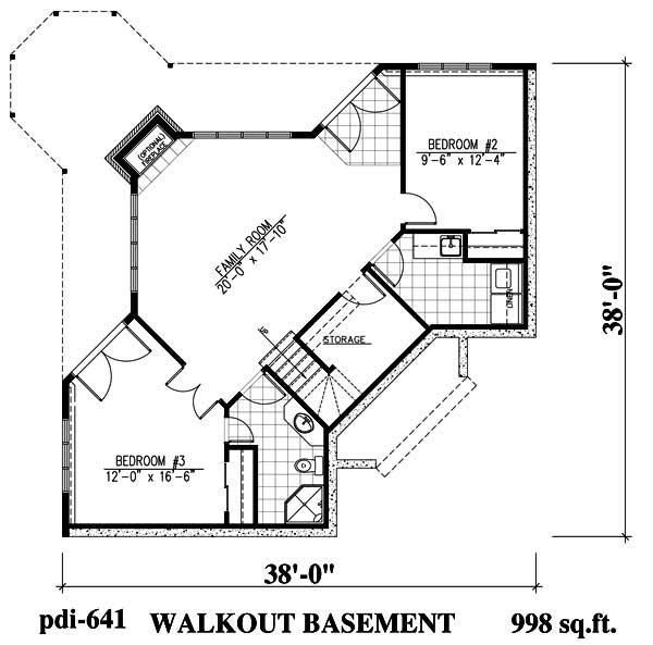 Lakefront Home Plan With Porch Deck Plan 158 1153 Country Style House Plans House Plans Model House Plan