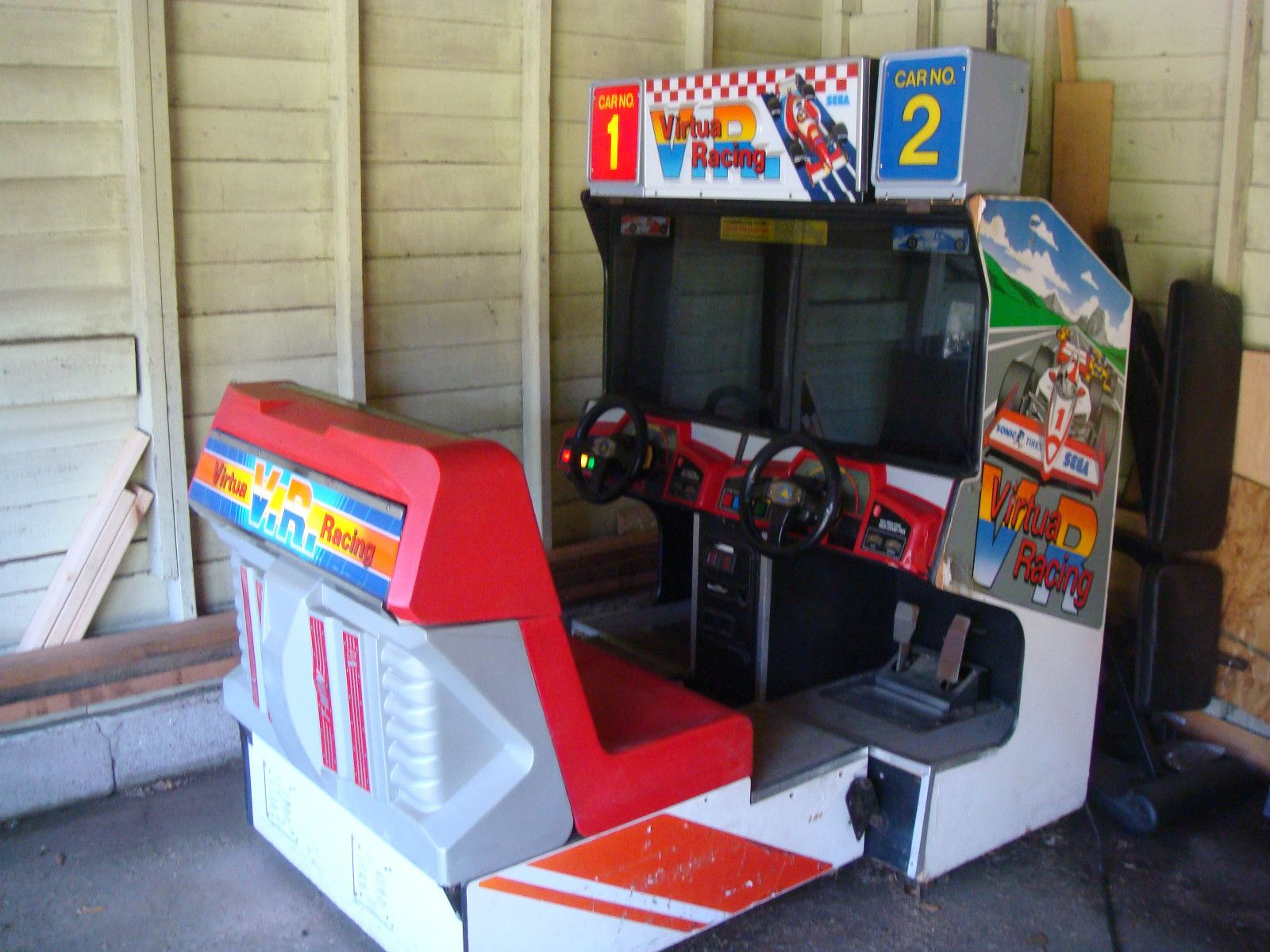 VIRTUA RACING Twin Arcade Cabinet