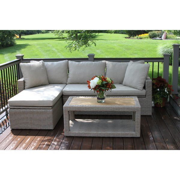 Dylan 3 Piece Deep Seating Group Garden Furniture Inspiration Garden Furniture Design Aluminium Outdoor Furniture