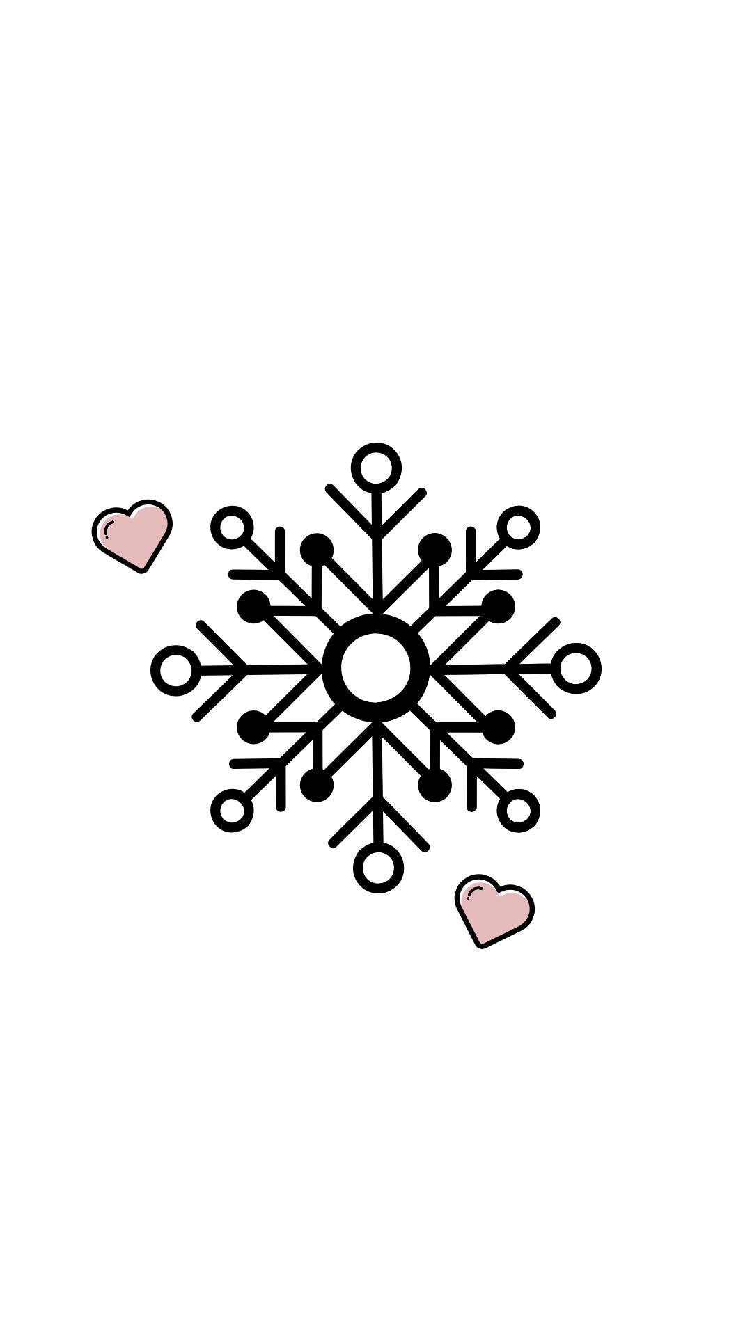 Icon Instagram Rosa Winter Snow Snowflake Schneeflocke Instagram Icons Winter Instagram Instagram Logo