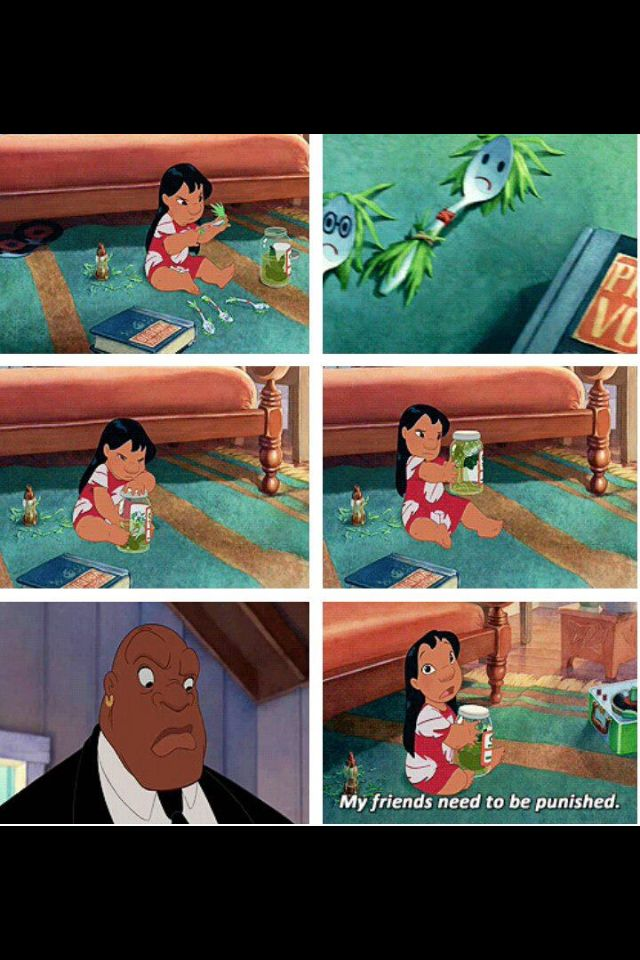 Lilo was my other childhood and noone knew why until now ;3