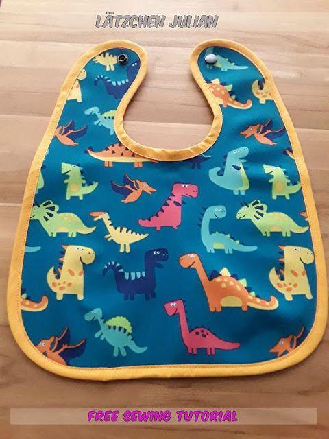 Abwaschbares Baby-Lätzchen mit Schritt für Schritt- Anleitung und ...