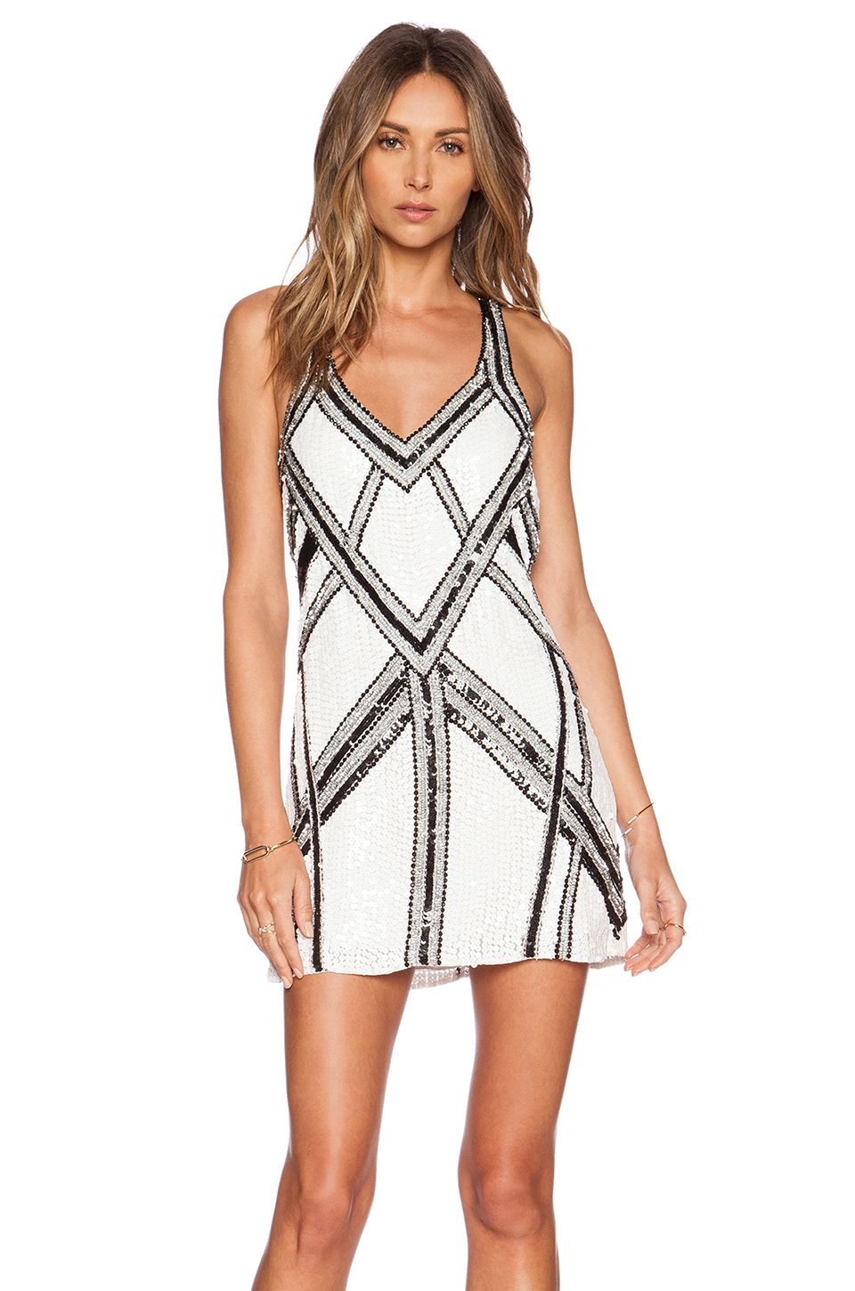 Love this black & White dress by Parker! #REVOLVEclothing | Fashion ...