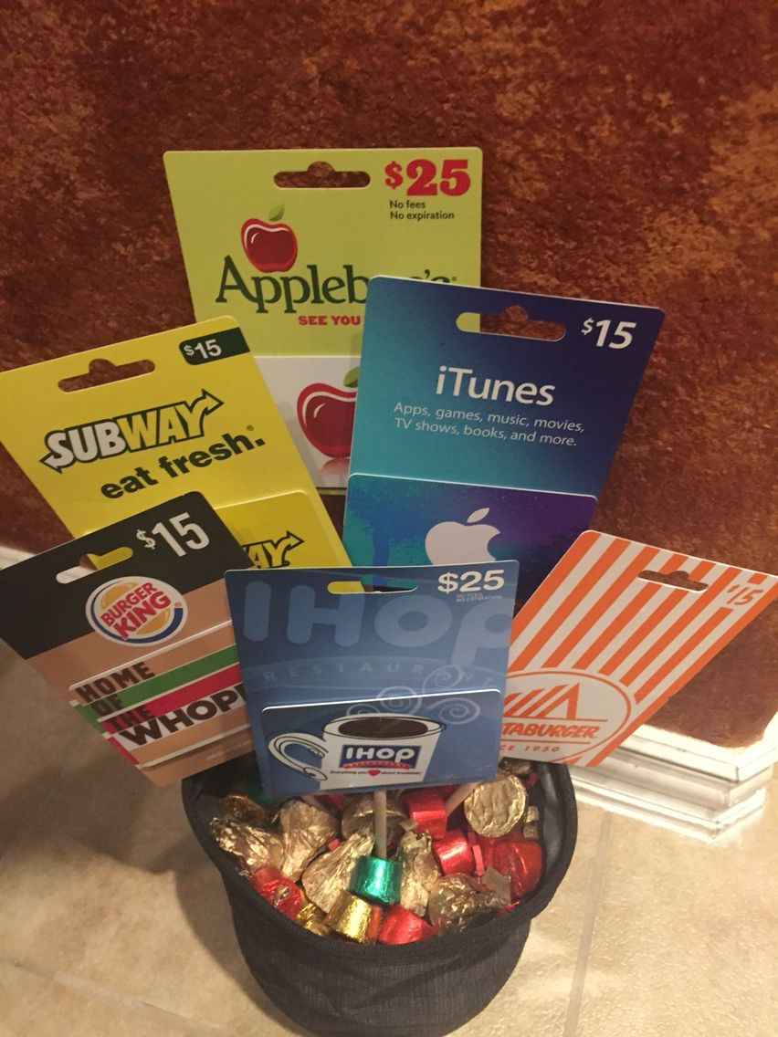 Gift Card Bouquet From My Kids!!!! Clever Ts & Ideas