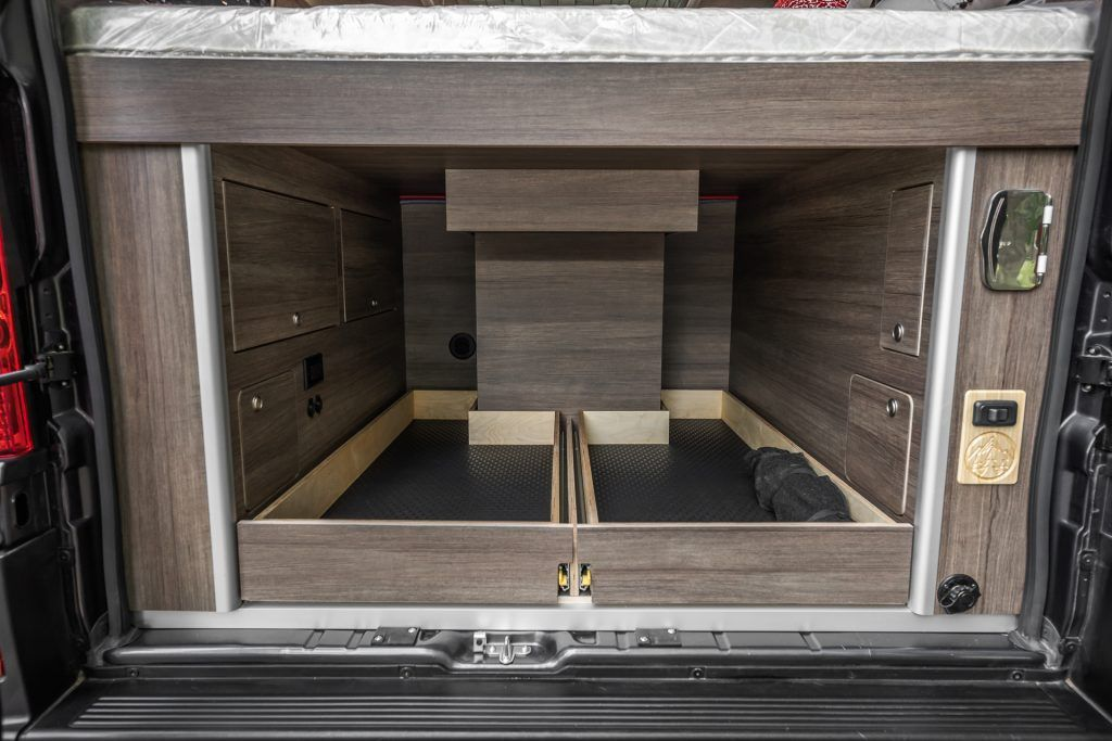 2019 Ram Promaster 3500 High Roof 159 3437 Gladstone Custom Wilderness Vans In 2020 Roof Ram Promaster Stainless Sink