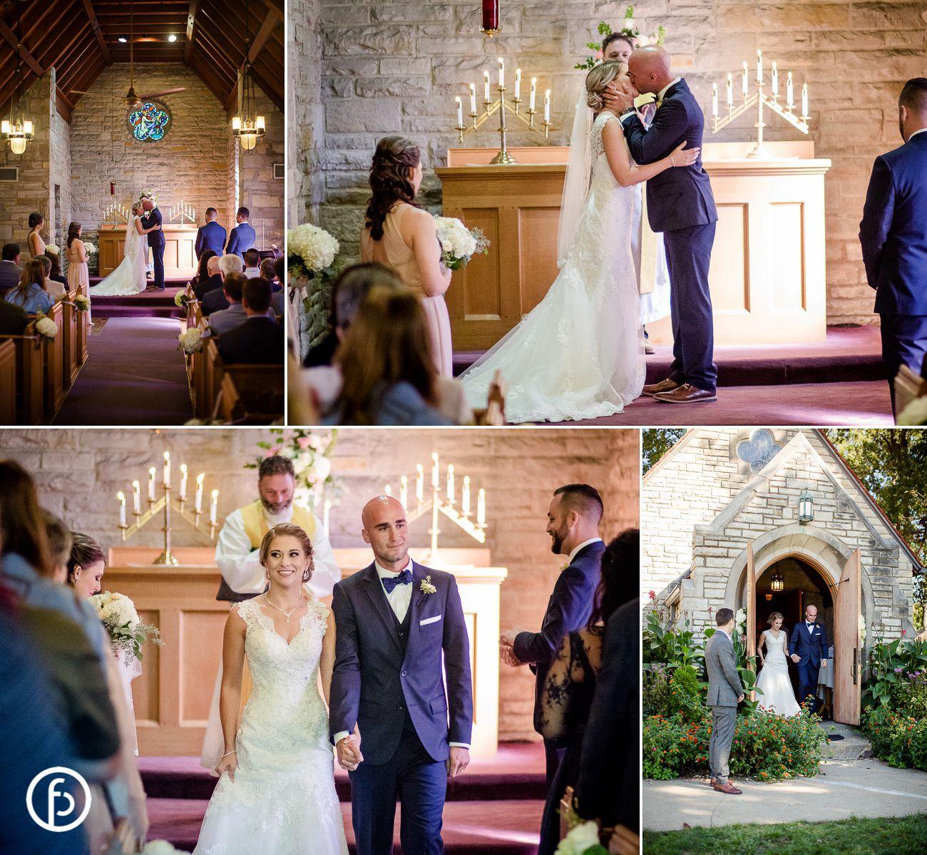Pilgrim Chapel Wedding Kansas