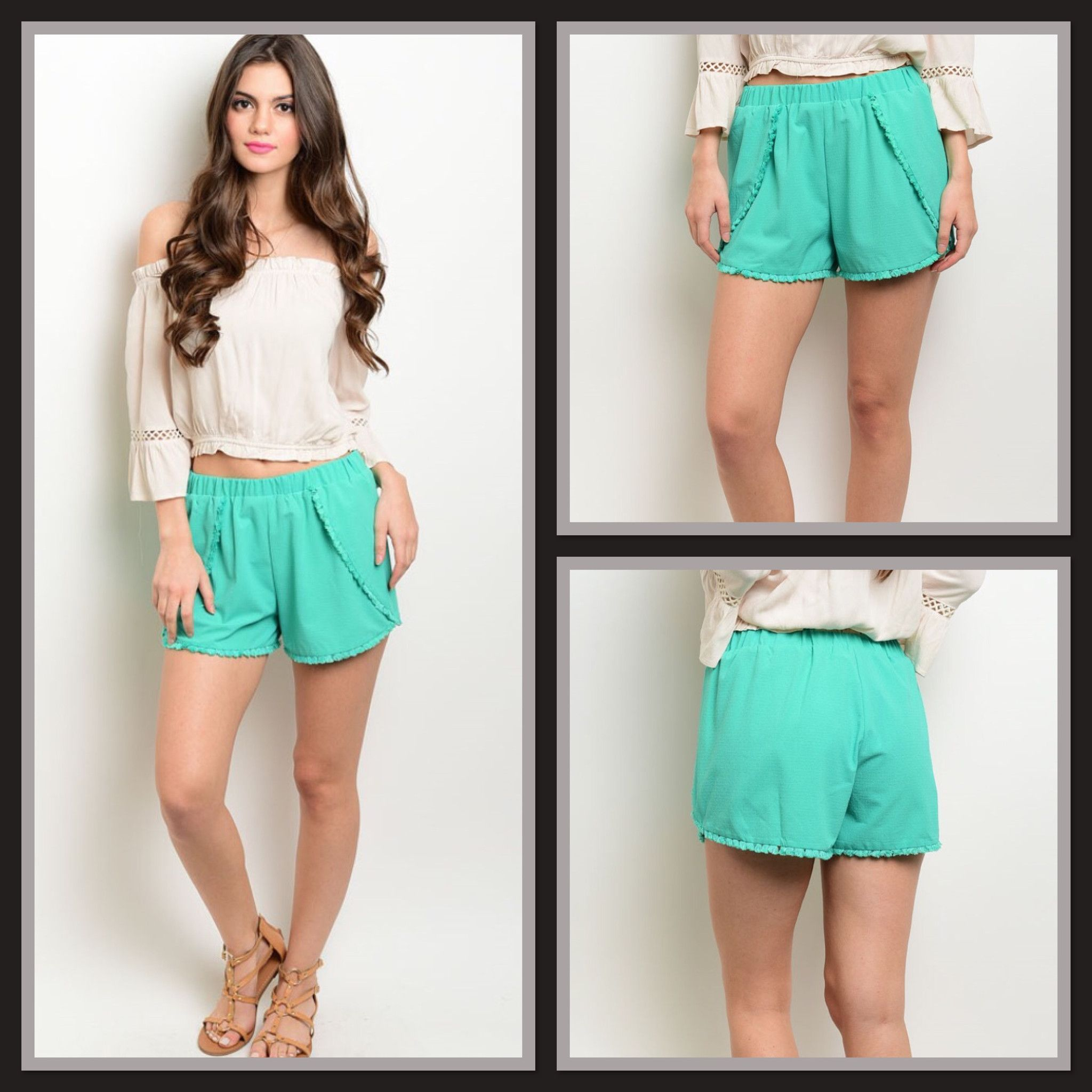 Bring It On Shorts Mint Bottoms Pinterest Shorts Sassy and Spring