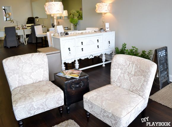 Provide A Comfortable Time In Waiting Room Awesome Pure Salon
