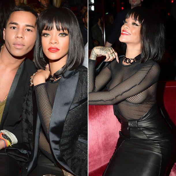 Excellent Rihanna see through paris