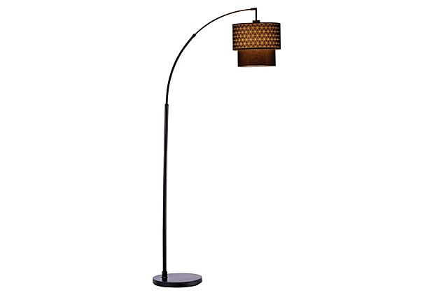 Gala Arc Lamp Chrome Chocolate On Onekingslane Com