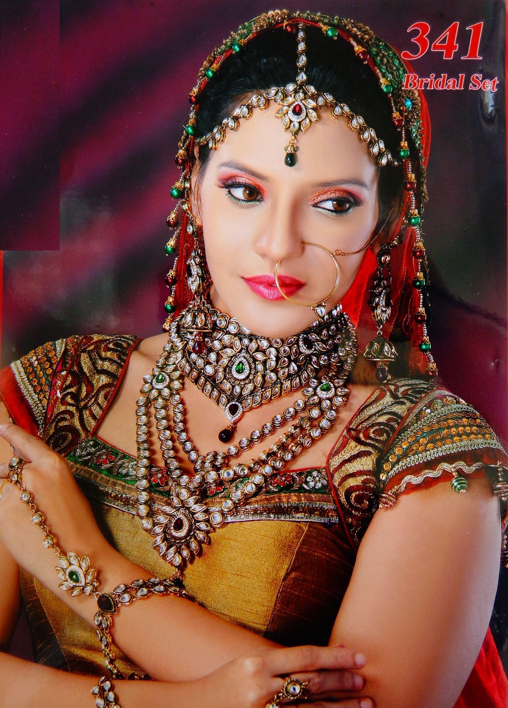 Ayyan ali bridal jeweller photo shoot design 2013 for women - Indian Bridal Jewellery Exclusive Bridal Jewellery Set 2015
