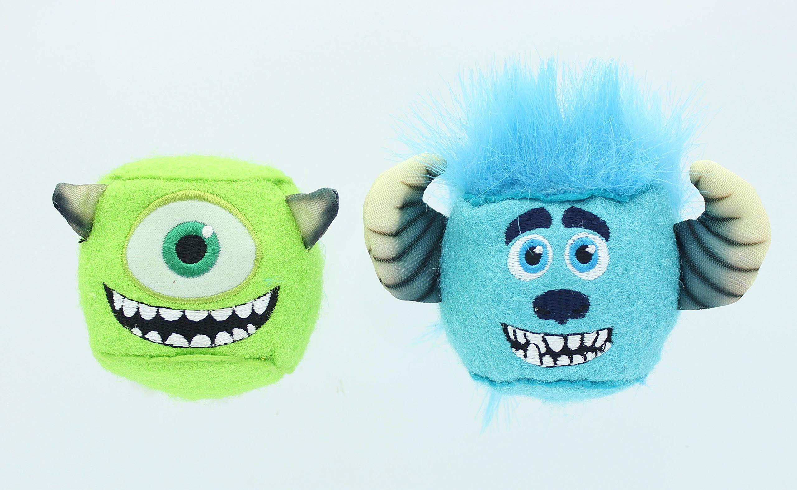 Kidswarehouse Disney Fun Noggins 2pack Dog Toy Monster Inc Mike