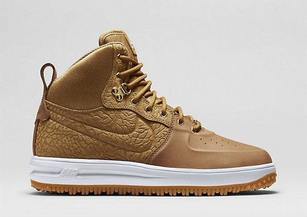 Nike Lunar Force 1 Sneakerboot Wheat Available Now   Nike