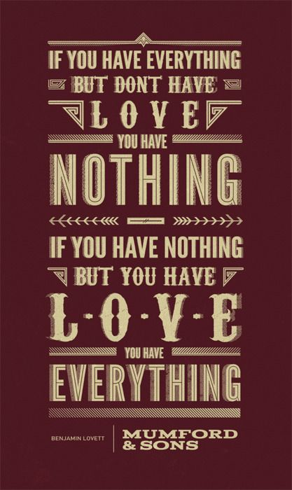 Mumford & Sons quote