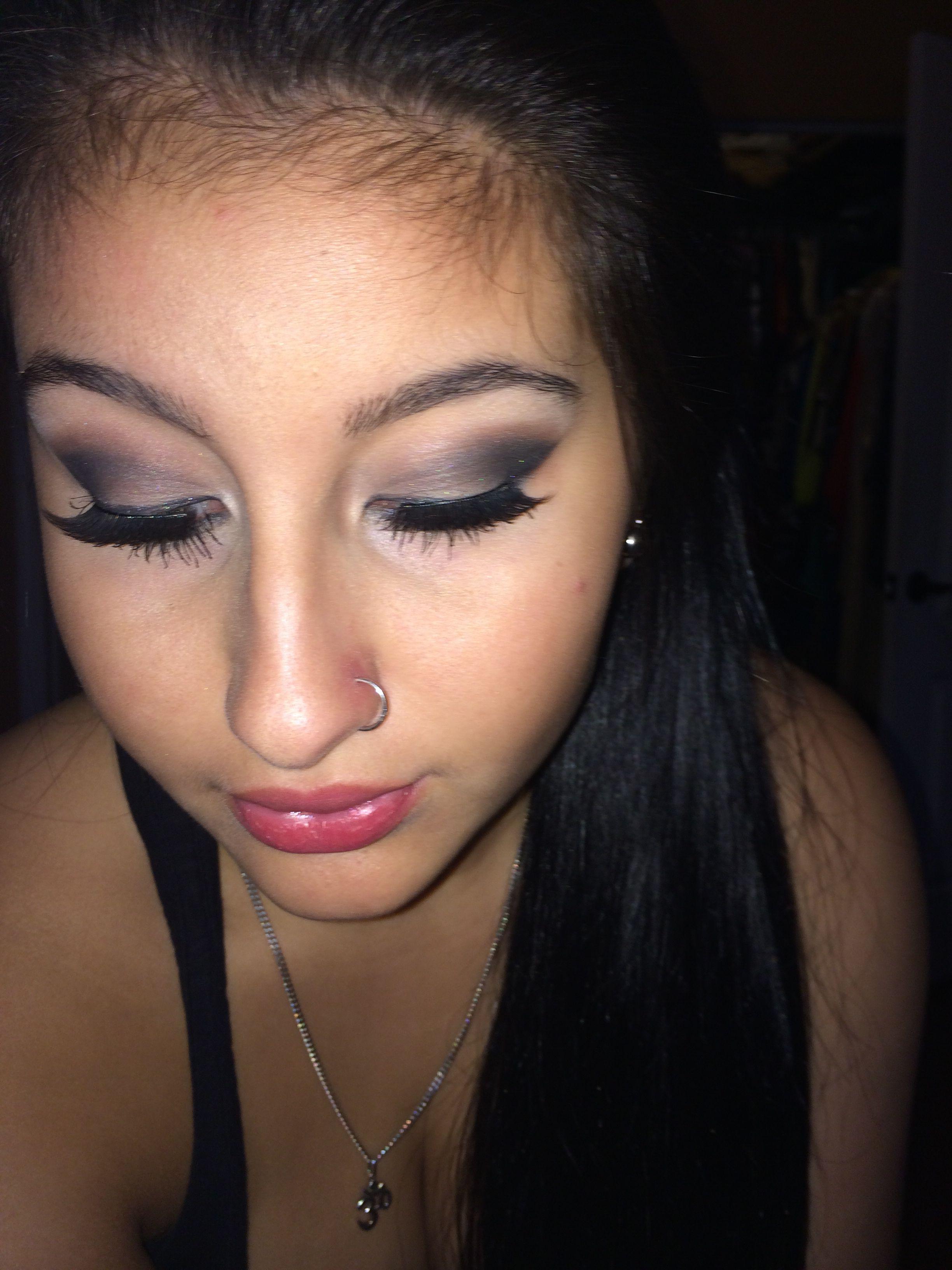 Smokey eye (With images) Smokey eye, Nose ring, Makeup