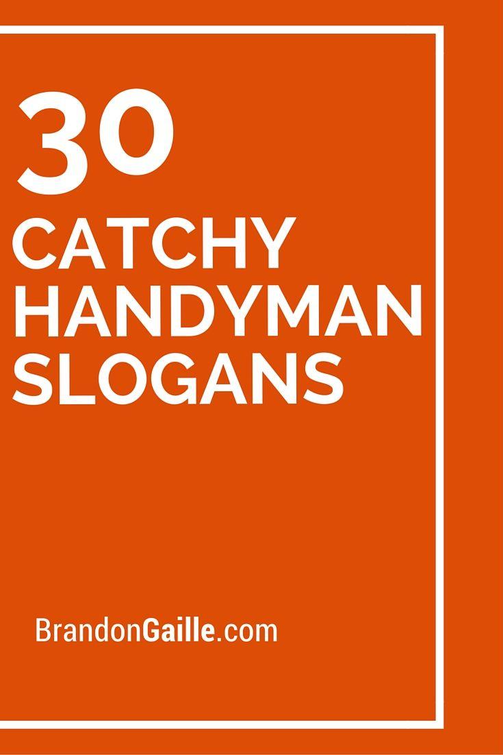 30 Catchy Handyman Slogans And Taglines Slogan
