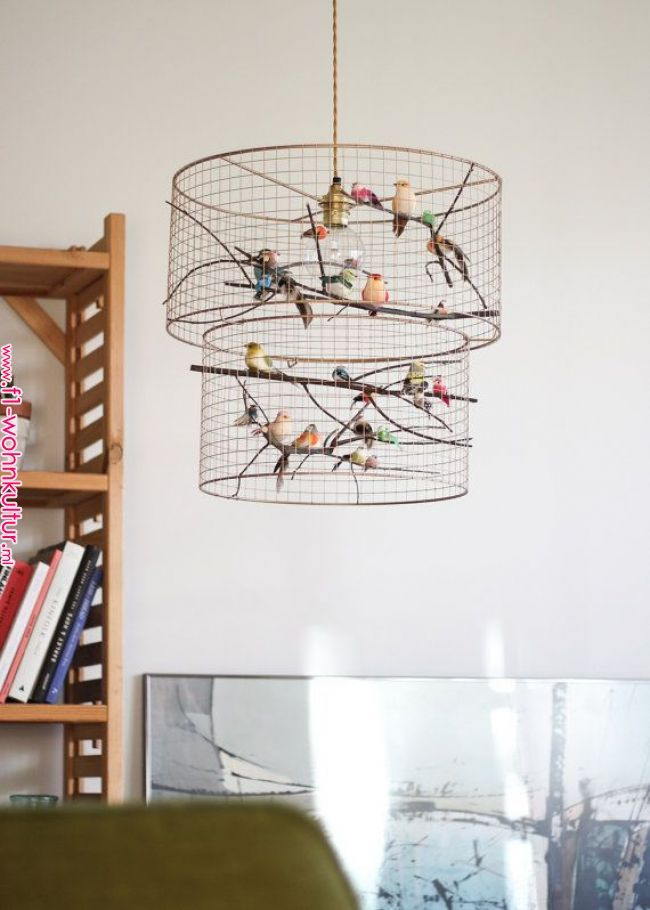 Double Birdcage Pendant Light Chandelier Diy Chandelier