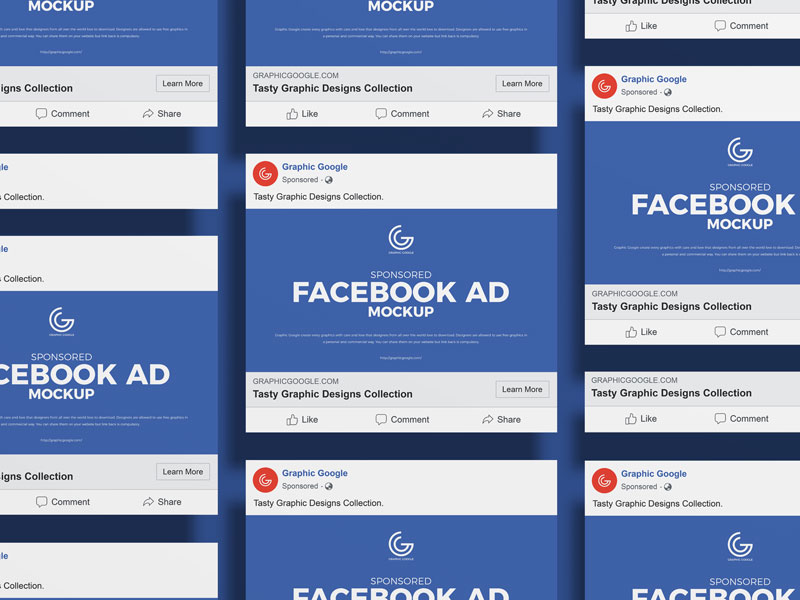Free Sponsored Facebook Ad Mockup Graphic Google Tasty Graphic Designs Collectiongraphic Google Tasty Graphic Desig In 2021 Facebook Ad Mockup Facebook Ad Mockup
