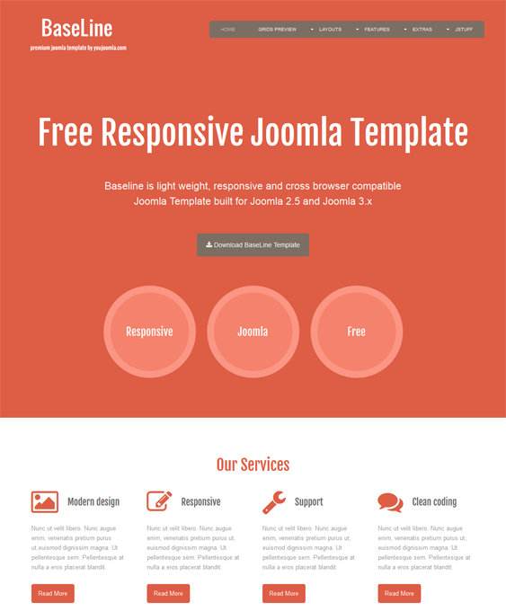 This free bootstrap joomla theme includes a responsive layout a this free bootstrap joomla theme includes a responsive layout a flat design shortcodes custom module styles cross browser compatibility google fonts maxwellsz
