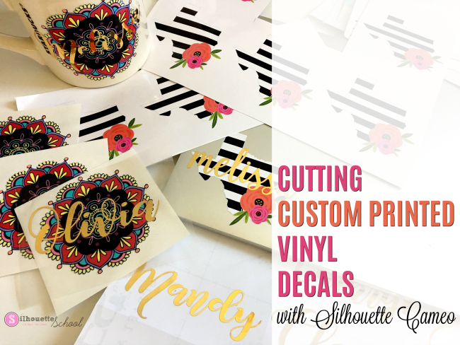 Custom Vinyl Decals Can Be Printed In Bulk Silhouette - Custom vinyl decals upload image
