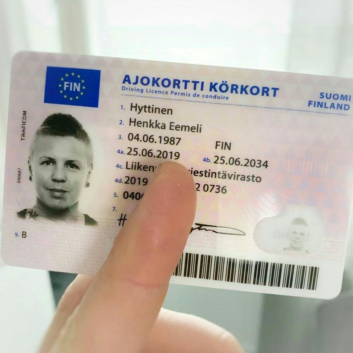 Finland Driver License Drivers License Finland Licensing
