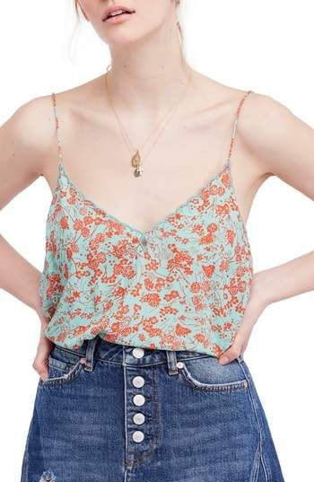 3cac339343d62d Free People Kora Print Camisole   Products   Camisole, Free people, Tops