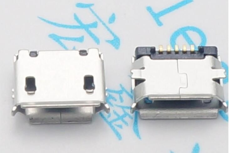 Charging Connector Micro USB Type-B Female 5pin SMT Socket Jack Connector Port