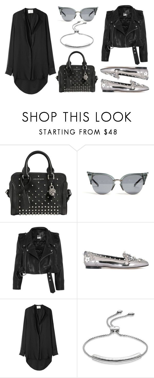 """Sweet Mini Handbags"" by eva-jez ❤ liked on Polyvore featuring Alexander McQueen, Vetements, Dolce&Gabbana, 3.1 Phillip Lim, Monica Vinader and Minime"