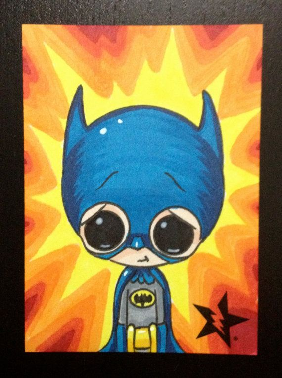 Hey, I found this really awesome Etsy listing at http://www.etsy.com/listing/156709226/sugar-fueled-batman-classic-dc-comic