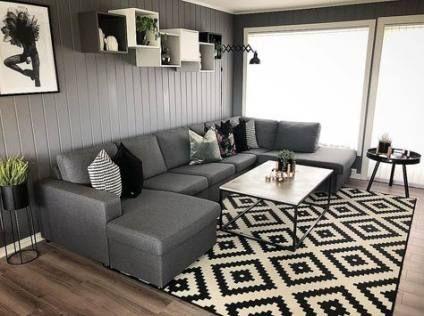 Apartment living room decor ikea curtains 24 Super Ideas images