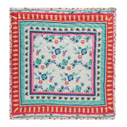 Le Decke zweiseitige decke blumenmuster natur le petit lucas du tertre