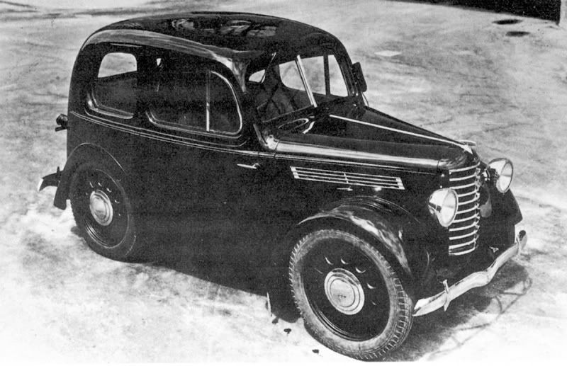 Mazda built its first automobile in 1960, but the possibility of - car description