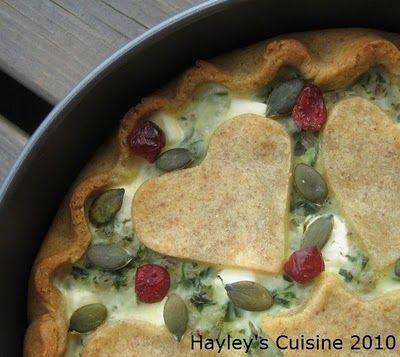 Hayley's Cuisine: Kippari-Kallen illallinen - Ohrainen feta-pinaattipiirakka