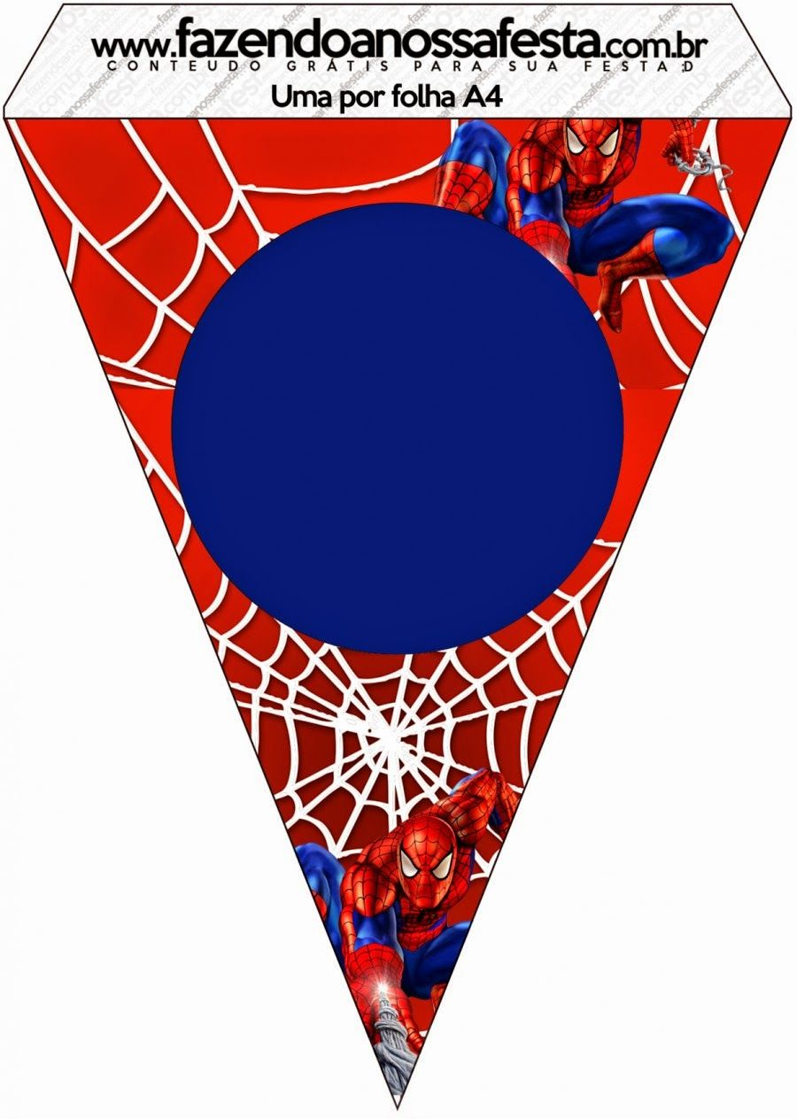 Spiderman: Free Party Printables and Images. | Birthday Party Ideas ...