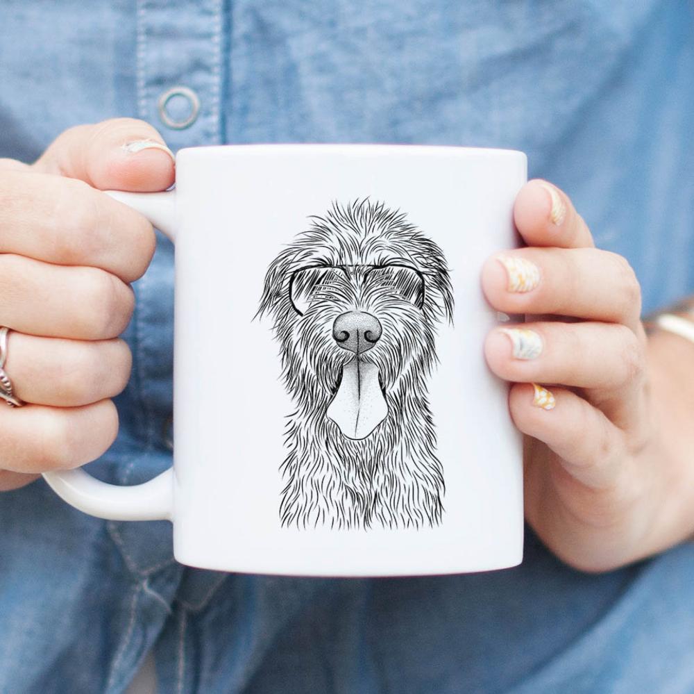 Sullivan the Irish Wolfhound Mug Dog Mug, Dog Lover